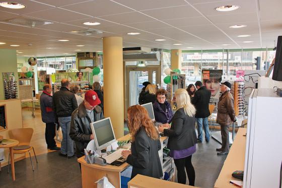 5-års jubileet för Specsavers i Gävle lockade många gamla och nya kunder. 6e3a6ff9c245b