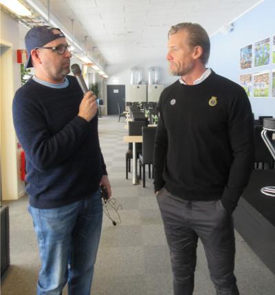 Hasse Carstensen, Geflepodden, intervjuar Johan Mjällby