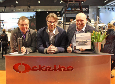 Micke Olsson, Peter Forsberg och Joe Formgren.