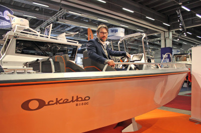 Peter Forsberg i en klassisk Ockelbo B18 DC.