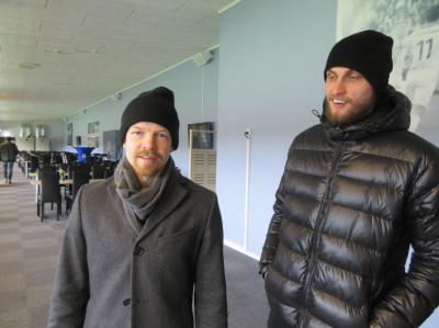 Jonas Lantto och Erik Törnström