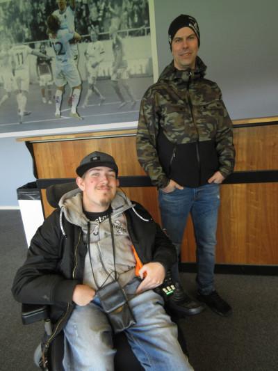 Joel Ekström och Johan Norrström