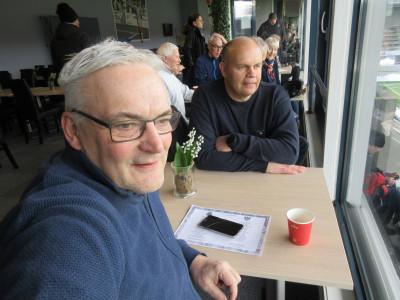 Tomas Moström och Olov Mattsson