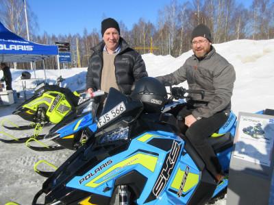 Tobias Isaksson och Martin Arnesson