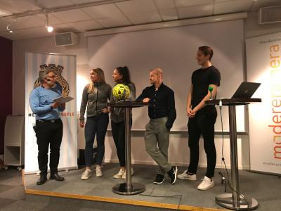 Anders Tollmar intervjuar Gabrielle Wågström, Lee Winroth, Jonas Lantto och Samuel Gussman