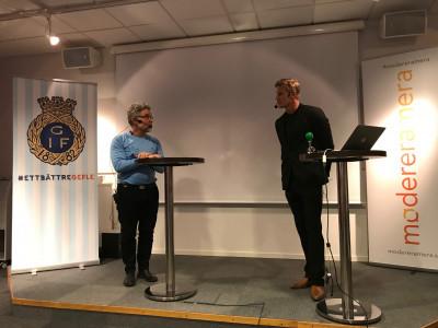 Anders Tollmar intervjuar Johan Mjällby