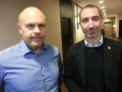 Olov Matsson och David Norell-Hussein