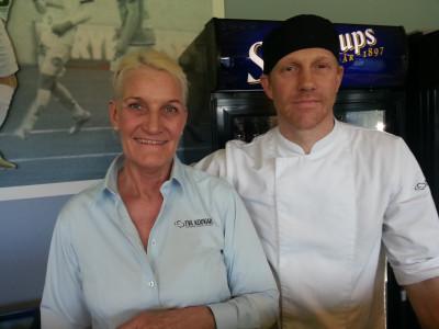 Ann-Sofie Olsson och Jimmy Wettainen