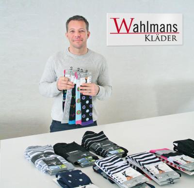 George Wahlman säljer hudvårdsprodukter för ömma fötter.