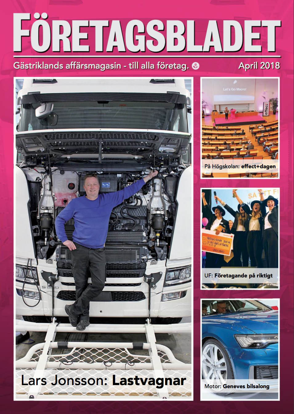 Läs Aprilnumret av Företagsbladet online