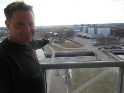 Där ska jag bygga ett kontorshus, Tullhuset, säger Fredrik Jernberg