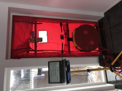 Luftläcksökning med Blower Door Metoden.