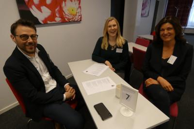 Jonas Dahlström och Jessica Åhs, Kontorscenter, med Chalene Kullberg, Engeltofta