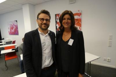 Jonas Dahlström och Jessica Åhs, Kontorscenter