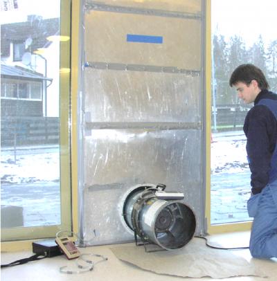 Blower Door Metoden