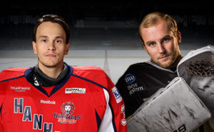 Fredrik Bergvik och Viktor Johnsson