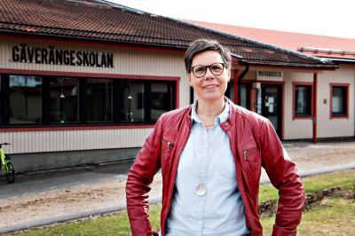 Carin Engblom fick den nya tjänsten som rektor för kommunens grundskolor.
