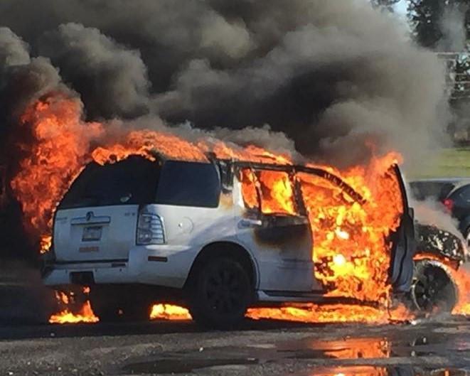 Antalet bilbränder i Gävle fördubblades
