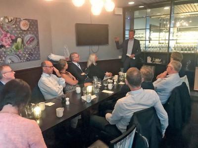 StyrelseAkademien bjöd på en pedagogisk presentation av advokat Bertil Wingqvist från Aberstens Advokatbyrå.
