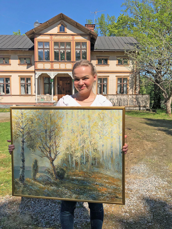 Finalutställning och Loppis på Dunderbergsgården i Ockelbo