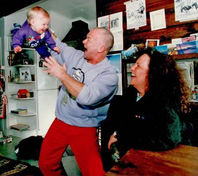 Jessie, pappa Leif och Tussen Formgren