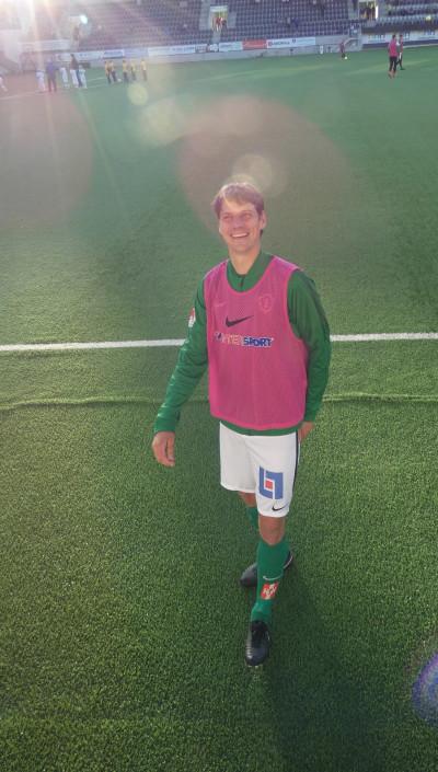 Jakob Orlov, som gjort näst mest för GIF i allsvenskan, hoppade in för Jönköping i andra halvlek och möttes av en applåd