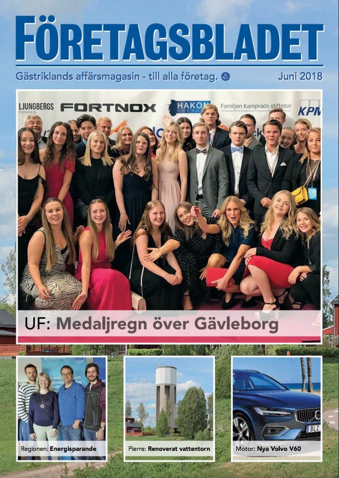 Läs juninumret av Företagsbladet på nätet