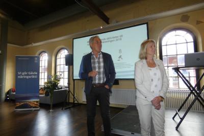 Bengt-Göran Wikström och Annika Jankell