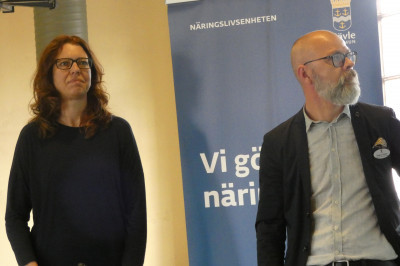 Annelie Hydén och Magnus Höijer