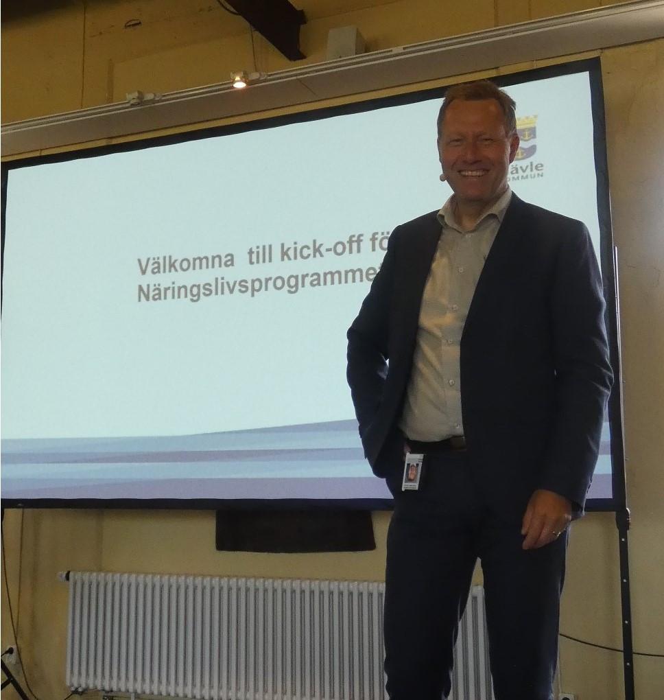 Kick-Off för Gävle kommuns nya Näringslivsprogram