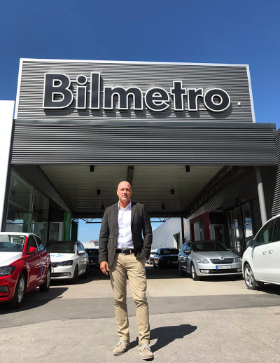 Johan Kempas, har sen april 2018 tillträtt som ny sektorchef för personbilar i Gävleborg.