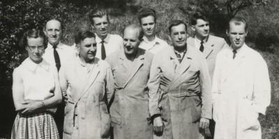 Bild 2 Personal på Munters fabrik