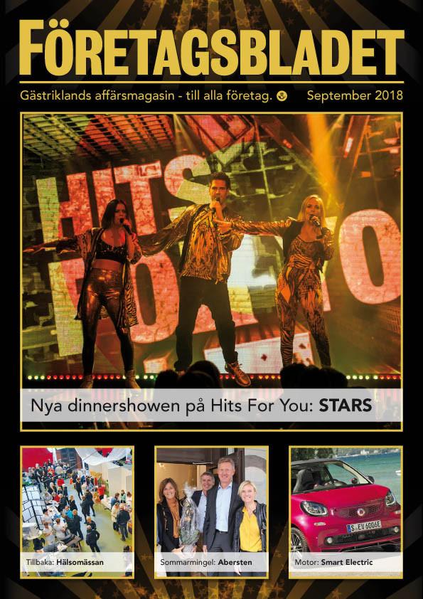 Läs septembernumret av Företagsbladet på nätet