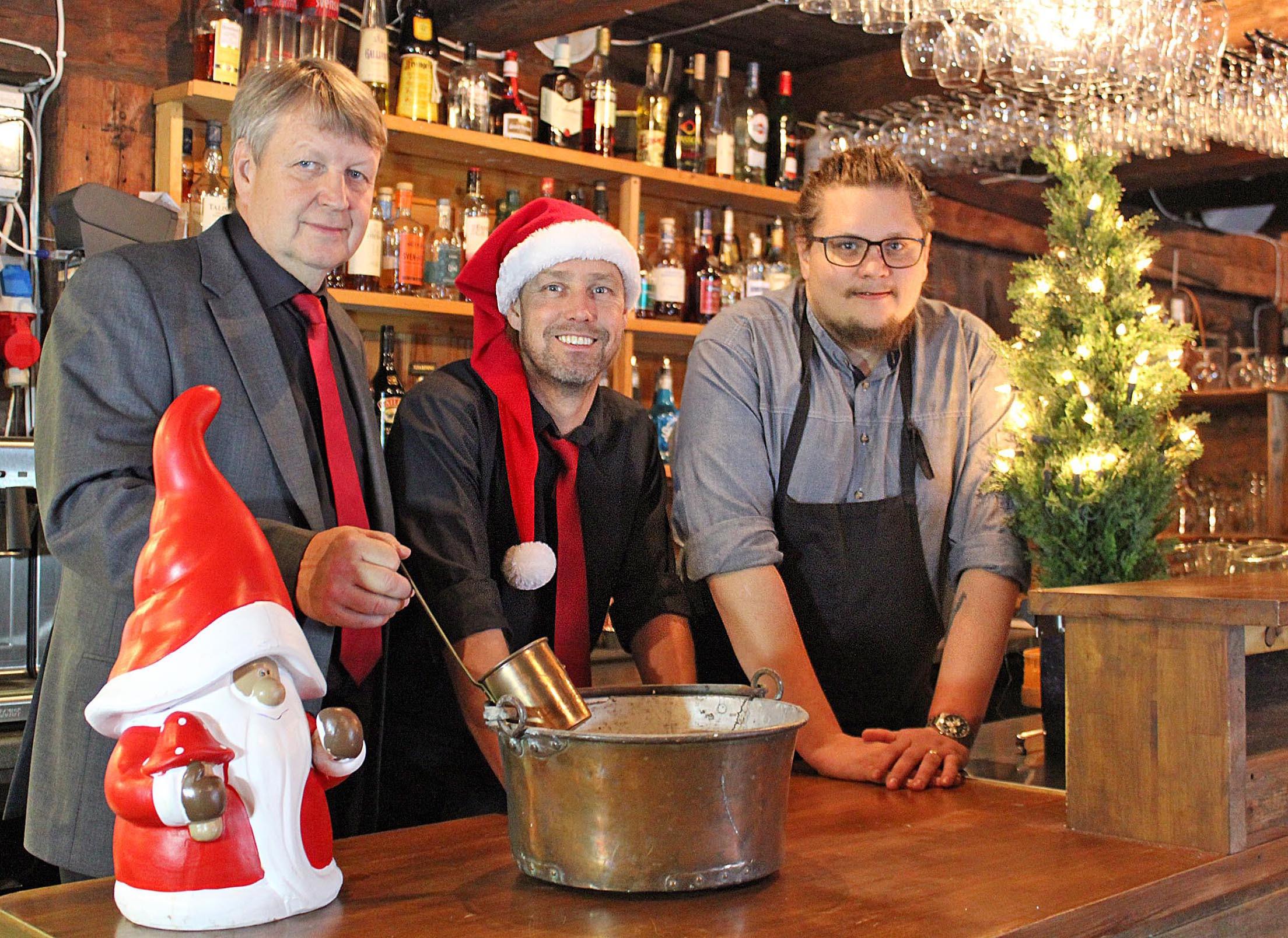 Axmar Brygga - redo för julbord och rustar för framtiden
