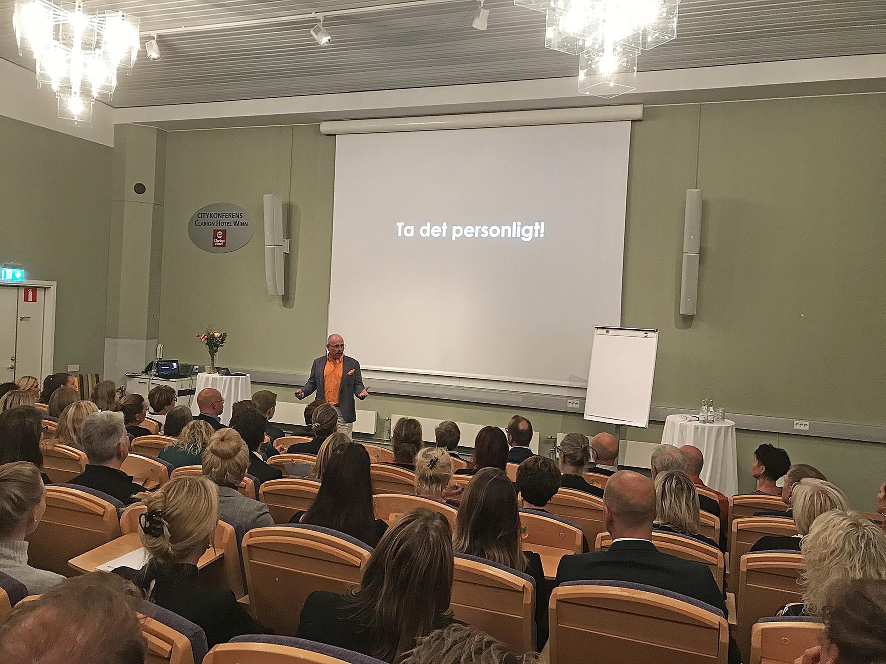 Personligt 10-årsfirande med Johan Dahl