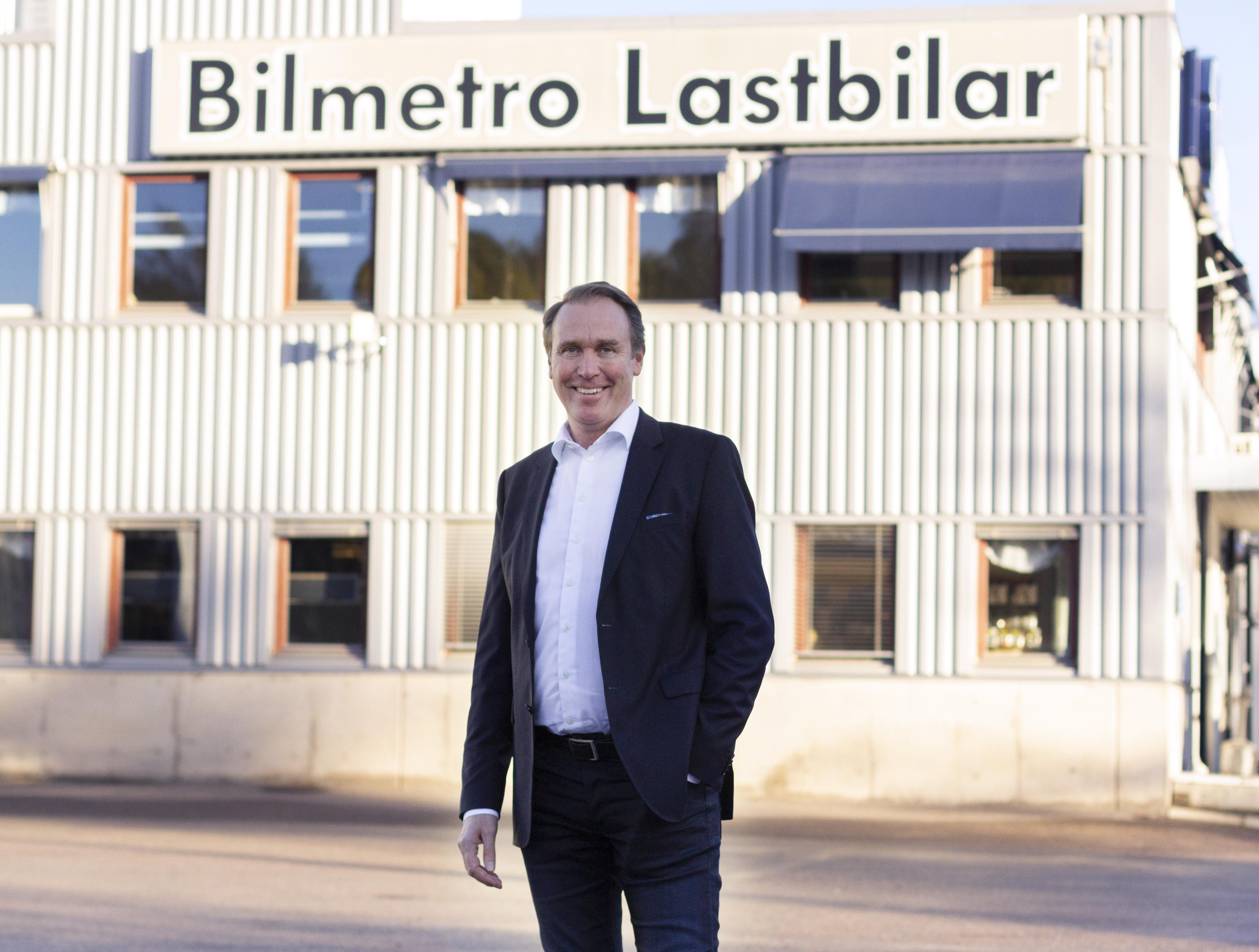 Johan Améen – ny VD för Bilmetro Lastbilar