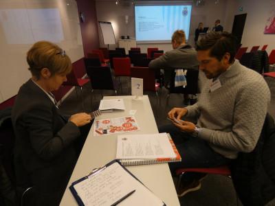 Lillie Persson, Allkontor, och Andreas Norlander, AllOffice