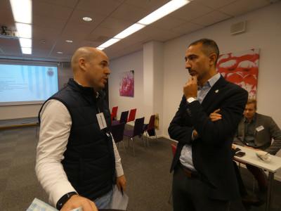 Daniel Kraft, Bilbolaget, och David Norell-Hussein, Gefle IF Fotboll