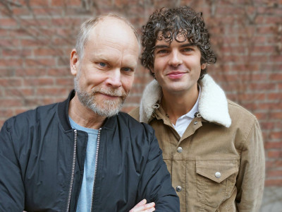 Kristian Luuk och Daniel Hallberg i ny talkshow