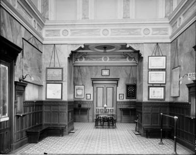 Huvudkontoret, interiör (foto Carl Larssons Fotografiska Ateljé AB)