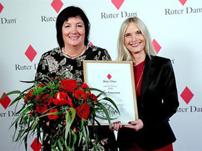 Petra Einarsson blev årets Ruter Dam