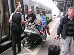 Alla resenärer har nytta av bättre tillgänglighet på tågen