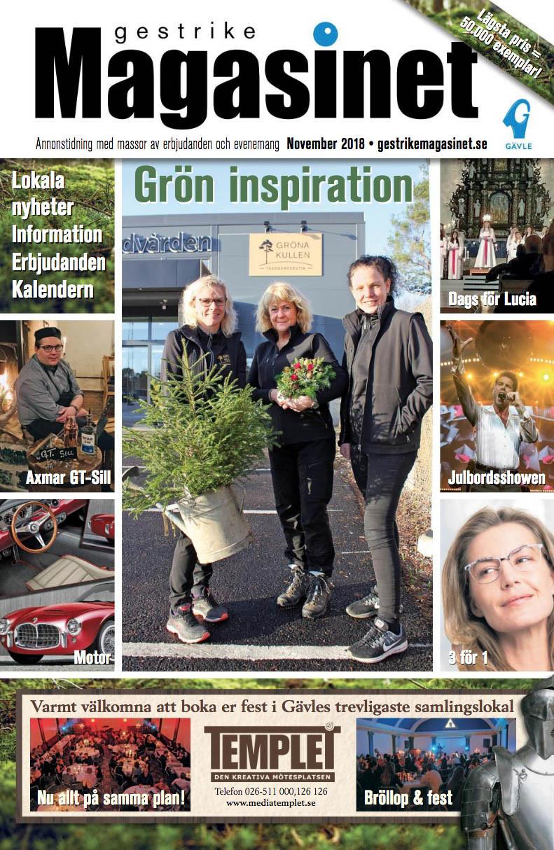Novembernumret av Gestrike Magasinet på nätet