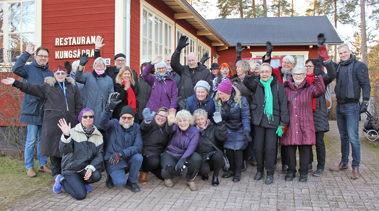 Sveriges bästa forum och mötesplats för pensionärer, här på Laxön i Älvkarleby.