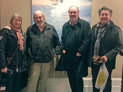 Succé för Johan Thunbergs vernissage på Elite Grand Hotel