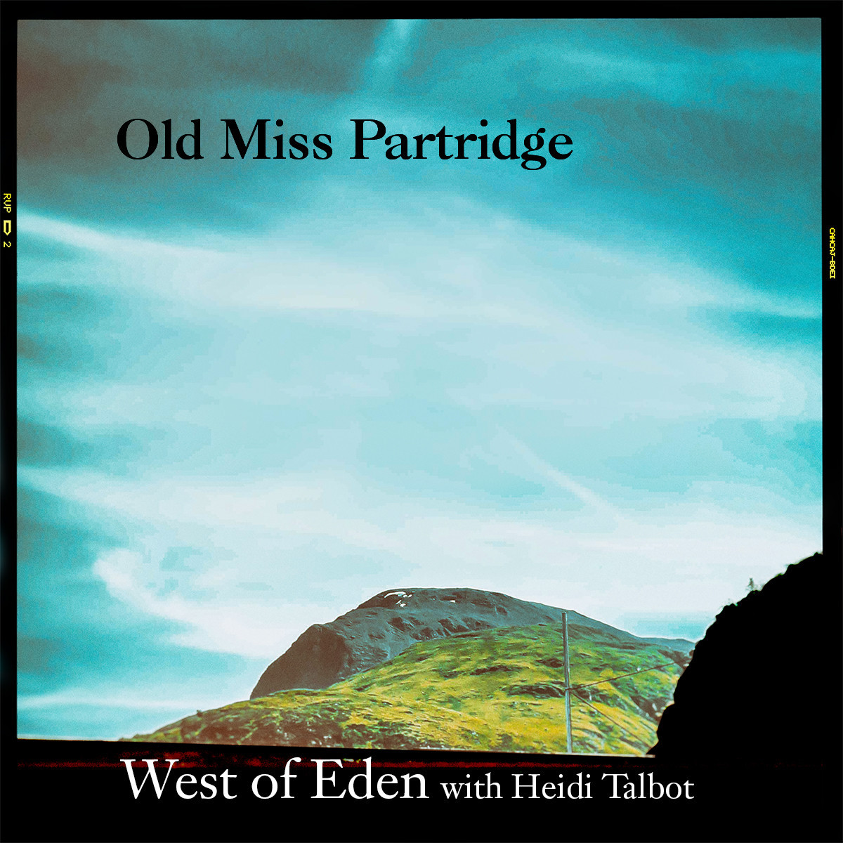 West of Eden samarbetar med Heidi Talbot på nya singeln Old Miss Partridge