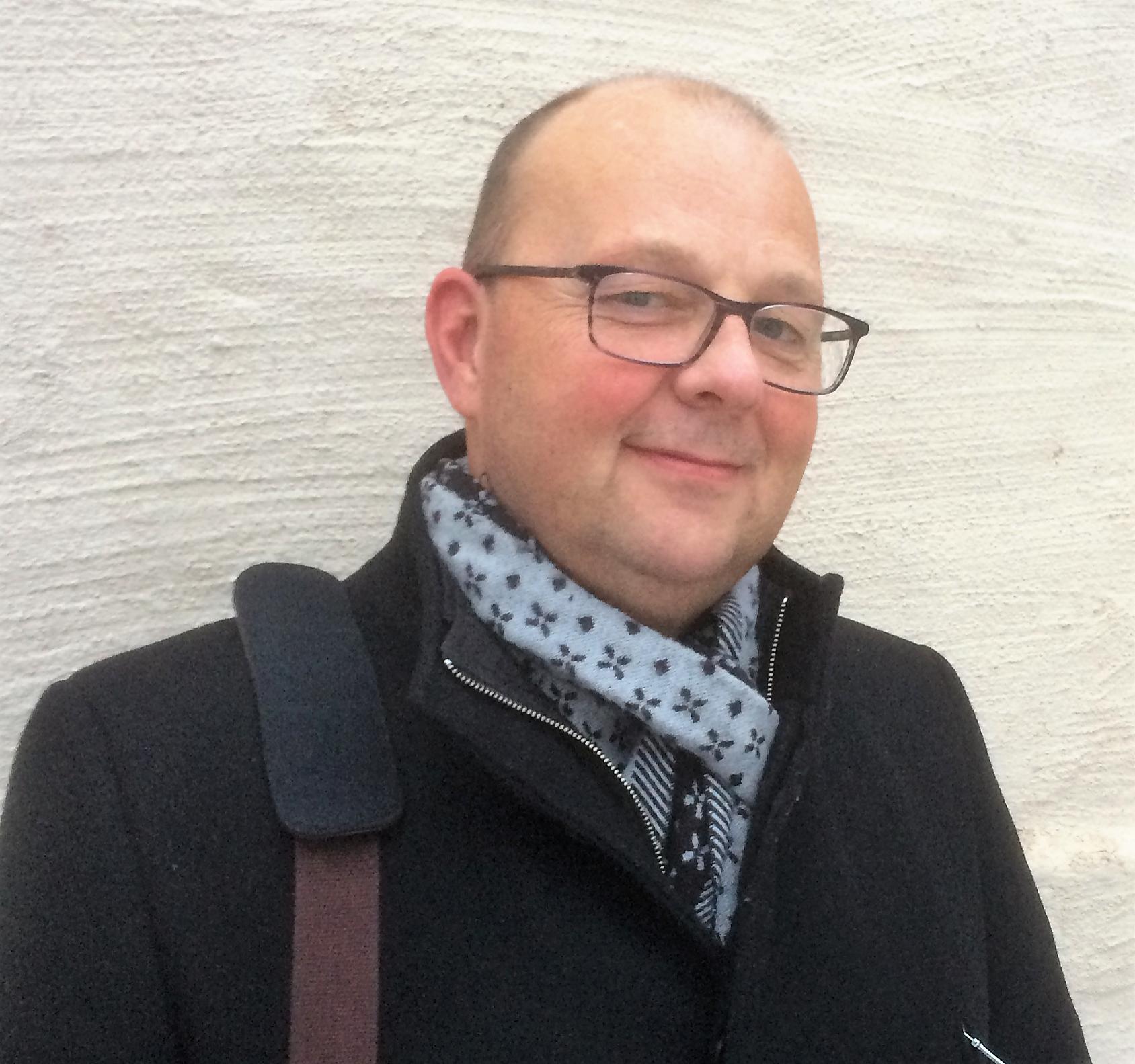 Jens Hed, platschef i Hofors.