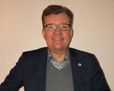 Lennart Kinnvall, platschef i Ockelbo