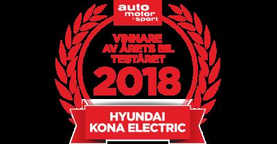 Hyundai Kona electric - Årets Bil 2018!