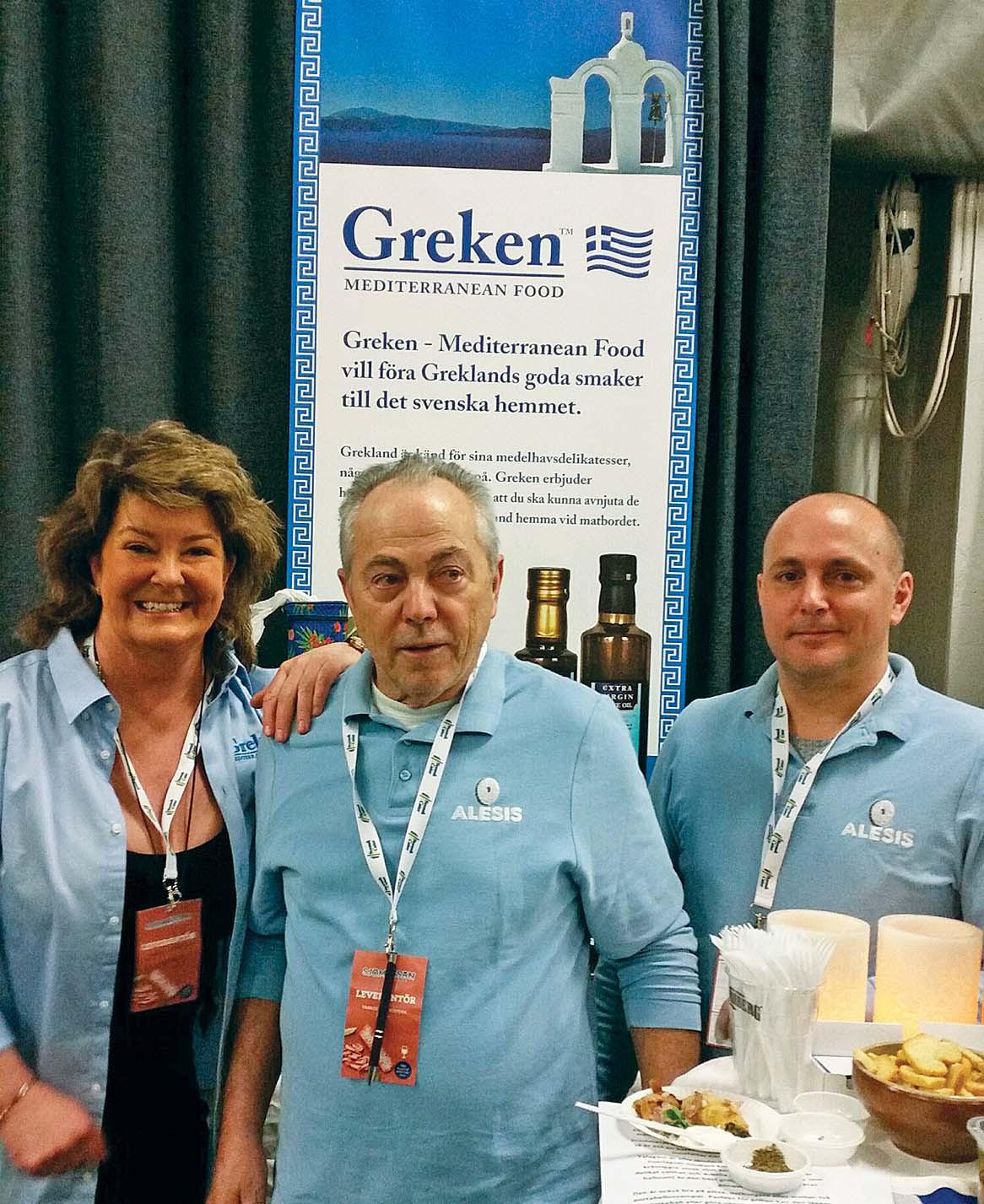 Succé för Greken Mediterranean Food på Sjömässan 2019